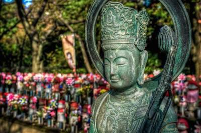 Statue de bodhisattva (Japon, CC)