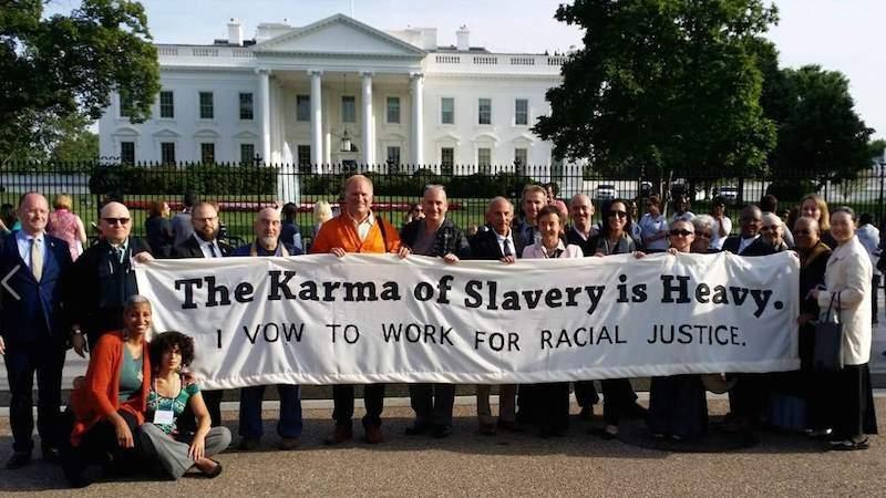 Les bouddhistes à la Maison-Blanche