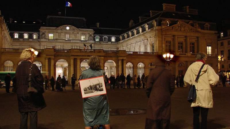 cercle de silence (Paris, 2008)